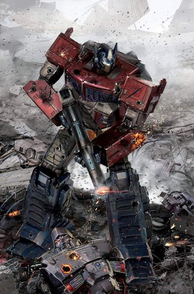 TRANSFORMERS 1 JOHN GALLAGHER VIRGIN VARIANT AND RATIO OPTIONS