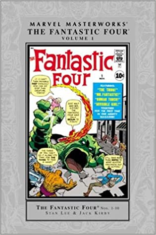 SEALED MARVEL MASTERWORKS THE FANTASTIC FOUR VOL. 1 - COLLECTING 1-10 50 % OFF - The Comic Mint