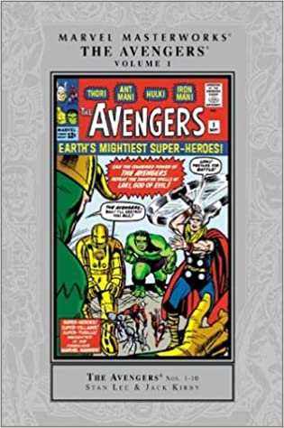 SEALED MARVEL MASTERWORKS THE AVENGERS VOL. 1 - COLLECTING 1-10 50 % OFF - The Comic Mint