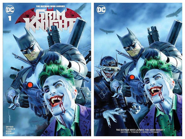 Grim Knight 1 Mike Mayhew TCM Variants