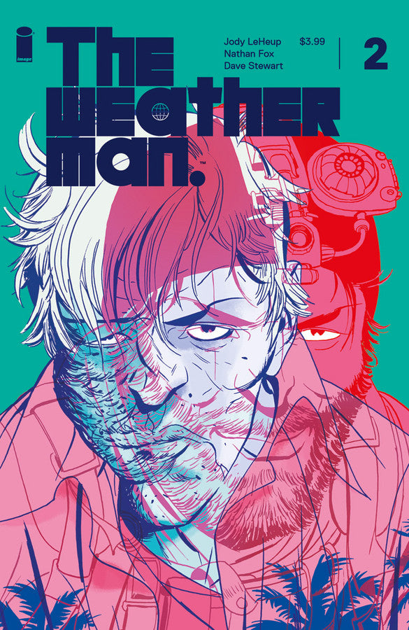 Weather Man #1 & #2 Cover A and Cover B Sets First Print