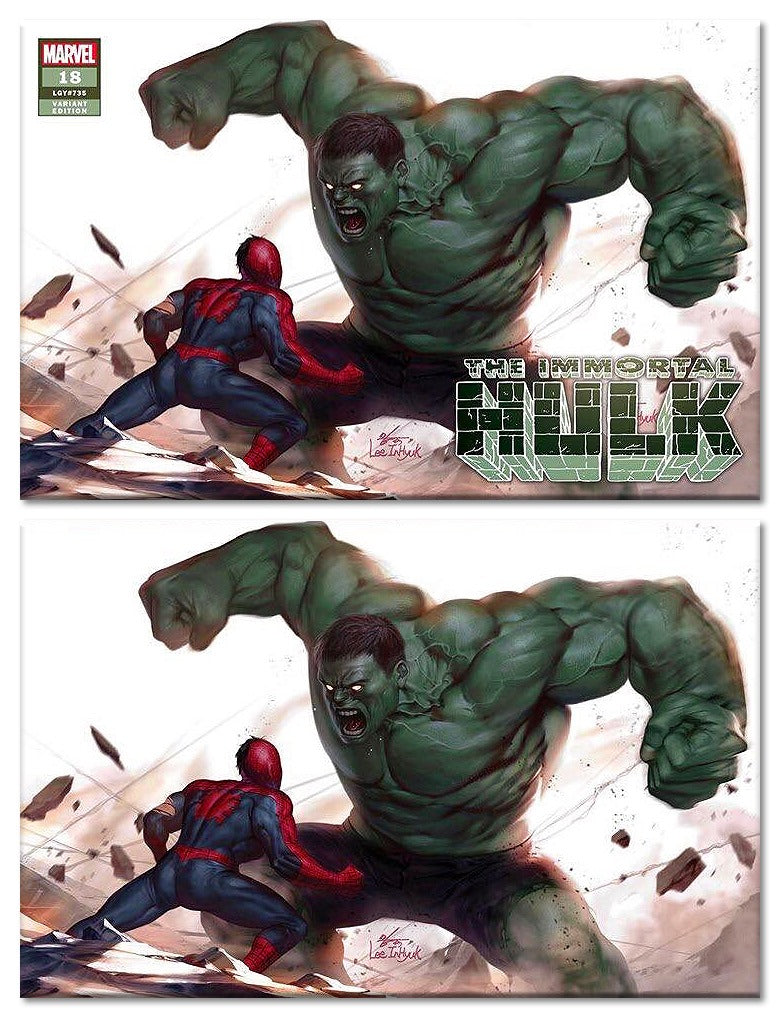 Immortal Hulk 18 Inhyuk Lee TCM Variant Options - The Comic Mint