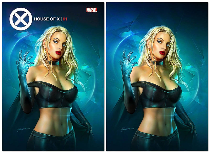HOUSE OF X 1 SHANNON MAER EMMA FROST VARIANT - The Comic Mint