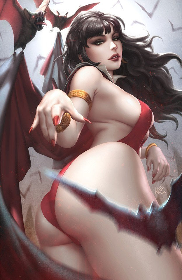 VAMPIRELLA 2 KENDRICK LIM VIRGIN VARIANT - The Comic Mint