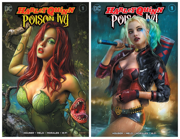HARLEY QUINN AND POISON IVY 1 SHANNON MAER VARIANTS