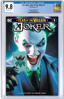 JOKER YEAR OF THE VILLAIN MIKE MAYHEW VARIANTS - The Comic Mint