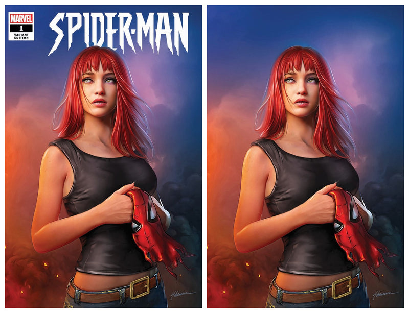 SPIDER-MAN 1 SHANNON MAER MARY JANE VARIANT - The Comic Mint