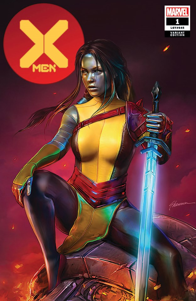 X-MEN 1 SHANNON MAER RASPUTIN VARIANT - The Comic Mint
