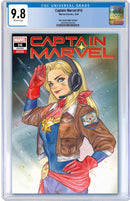 CAPTAIN MARVEL 16 (150) PEACH MOMOKO VARIANT - The Comic Mint