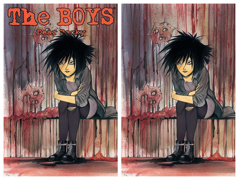 THE BOYS DEAR BECKY 2 PEACH MOMOKO VARIANT - The Comic Mint