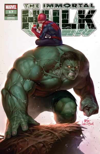 Immortal Hulk 17 Inhyuk Lee Trade Dress Plus Cover A and B set