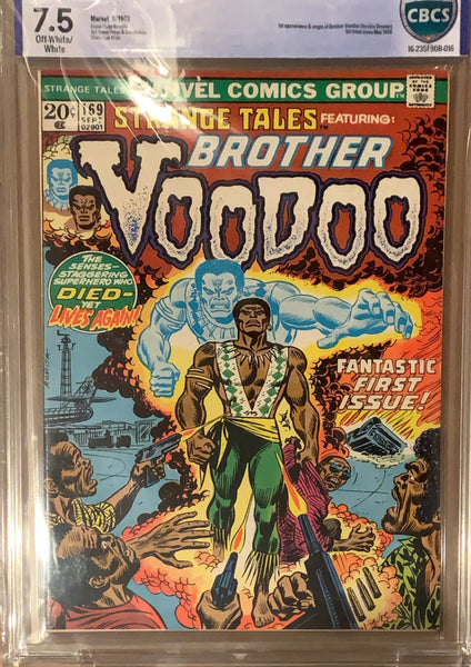 STRANGE TALES 169 CBCS 7.5 FIRST BROTHER VOODOO