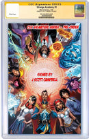 STRANGE ACADEMY 1 TCM EXCLUSIVE J SCOTT CAMPBELL VIRGIN VARIANT - The Comic Mint