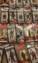 LOT OF WALKING DEAD ACTION FIGURES, SEALED IN BOXES NEW