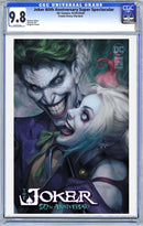 Joker 80th Anniversary Super Spectacular Artgerm Variant Options - The Comic Mint