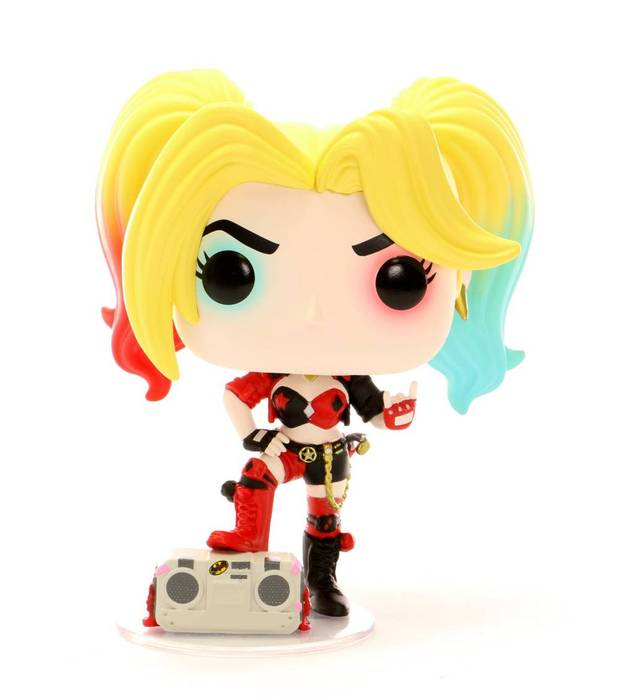 DC Harley Quinn With Boombox PX Exclusive Funko Pop Comes With Pop Protector $12.95 - The Comic Mint
