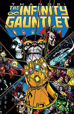 THE INFINITY GAUNTLET TRADE PAPER BACK AT 40% OFF!