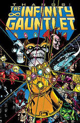 THE INFINITY GAUNTLET TRADE PAPER BACK AT 50% OFF!