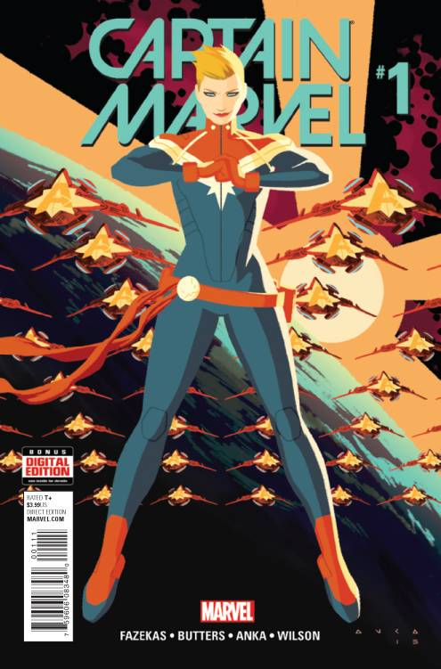 CAPTAIN MARVEL 1 (2016) REGULAR COVER FIRST PRINT - The Comic Mint