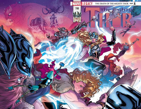 MIGHTY THOR #700 REGULAR COVER 10 PACK AT 66% OFF!!!!