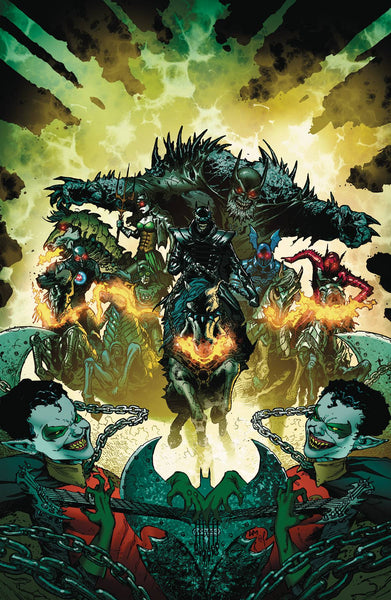 DARK KNIGHTS RISING THE WILD HUNT #1 5 PACK AT 30% OFF FOIL STAMPED COVER - TCMI