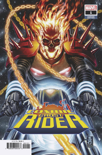 COSMIC GHOST RIDER 1 1:50 BROOKS VARIANT