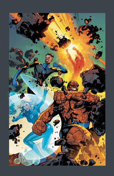 FANTASTIC FOUR #1 LUPACCHINO 1:25 INCENTIVE VARIANT