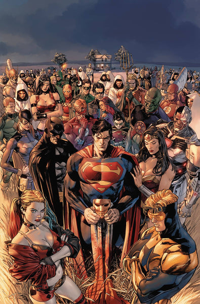 HEROES IN CRISIS #1 FIVE PACK OF REGULAR COVER FOR FREE (LIMIT ONE PER MEMBER)