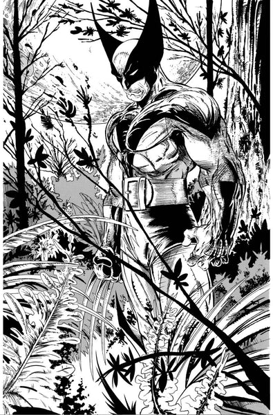RETURN OF WOLVERINE #1 1:1000 MCFARLANE REMASTERED BLACK AND WHITE VARIANT