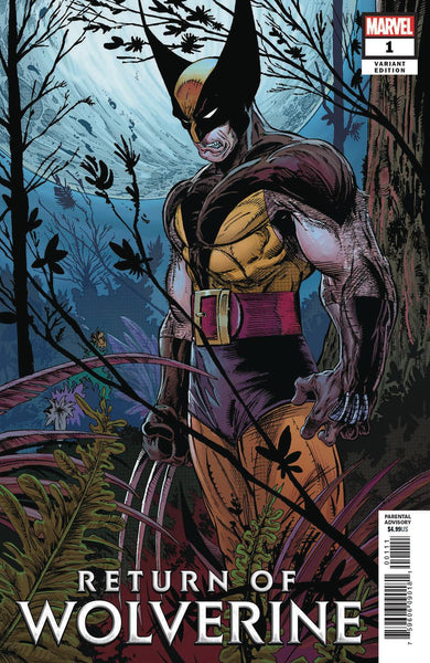 RETURN OF WOLVERINE #1 1:500 MCFARLANE REMASTERED VARIANT