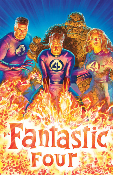 FANTASTIC FOUR #1 ALEX ROSS 1:50 INCENTIVE VARIANT
