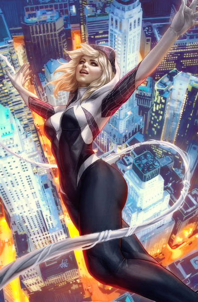 SPIDER-GWEN GHOST SPIDER #1 ARTGERM VARIANT OPTIONS