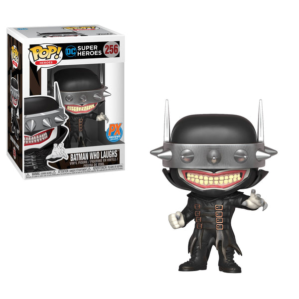 POP DC HEROES BATMAN WHO LAUGHS PX DIAMOND EXCLUSIVE VINYL FIGURE - The Comic Mint