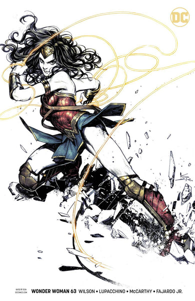 Wonder Woman 63 Karmome Shirahama Variant Options