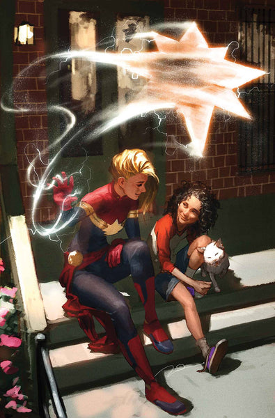 AVENGERS #15 PAREL CAPTAIN MARVEL VARIANT