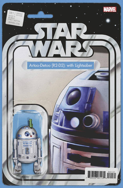 Star Wars #61 Christopher Action Figure Variant Cover 5 Pack for 35% Off