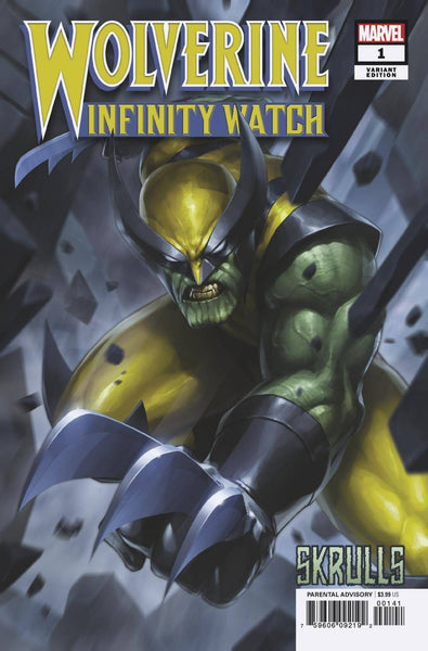 WOLVERINE INFINITY WATCH #1 JEE HYUNG LEE SKRULLS VARIANT 5 PACK FOR 40% OFF