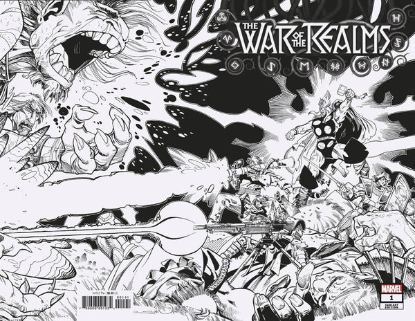 WAR OF REALMS #1 COMPLETE RATIO SET 1:10, 1:10, 1:10, 1:25, 1:50,1:50, 1:100, 1:200, 1:500