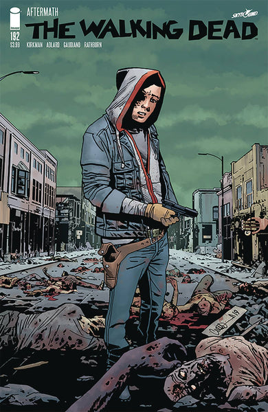WALKING DEAD 192 REGULAR AND BLANK VARIANT SET