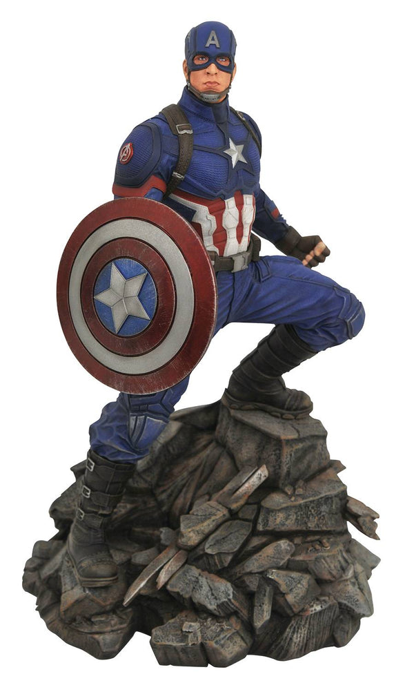MARVEL PREMIER AVENGERS 4 CAPTAIN AMERICA STATUE LIMITED TO 3000 - The Comic Mint