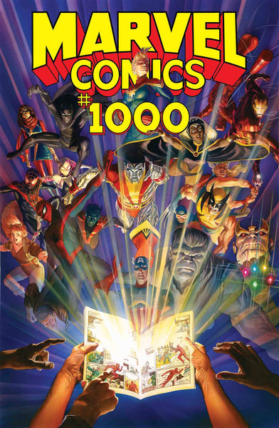 MARVEL COMICS 1000 REGULAR COVER 5 PACK FOR 50% OFF - CGC OPTION