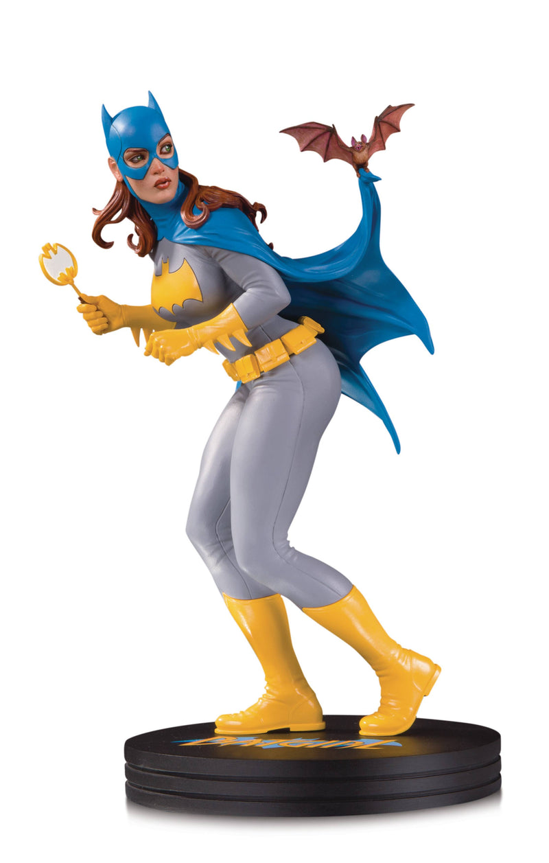DC COVER GIRLS BATGIRL BY FRANK CHO STATUE LIMITED TO 5000 - The Comic Mint