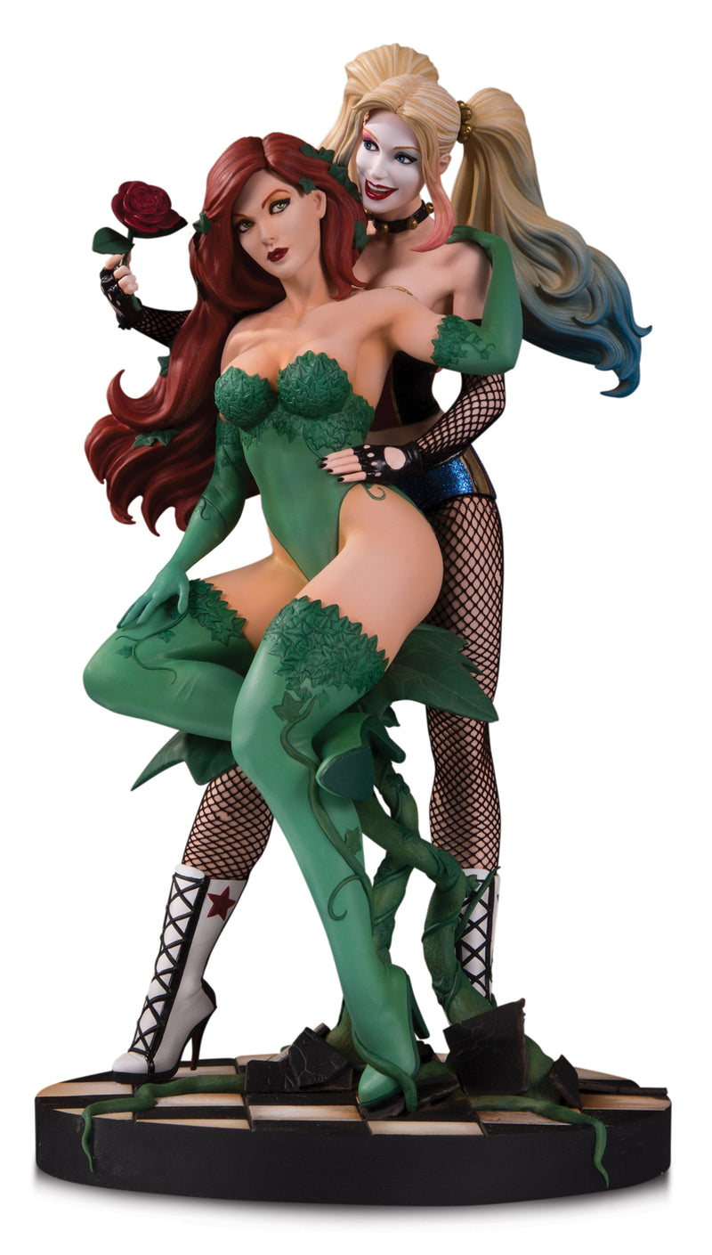 DC DESIGNER SER HARLEY & POISON IVY BY LUPPACHINO STATUE LIMITED TO 5000 - The Comic Mint