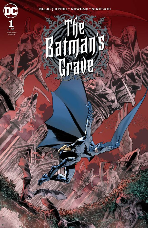 BATMAN'S GRAVE #1 15 PACK SET ( 5 REGULAR COVER, 5 BLANK COVER, 5 CARD STOCK COVER) - The Comic Mint