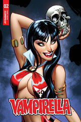 VAMPIRELLA #2 CAMPBELL TRADE DRESS 1:15 RATIO