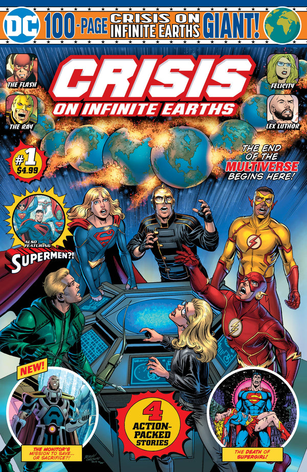 GIANT SIZE CRISIS ON INFINITE EARTHS #1