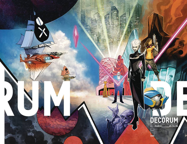DECORUM 1 COMPLETE SET OF ALL 3 IMAGE RELEASED COVERS - The Comic Mint
