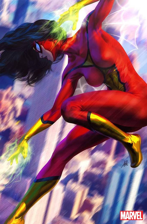 SPIDER-WOMAN 1 1:500 ARTGERM INCENTIVE RATIO VARIANT - The Comic Mint