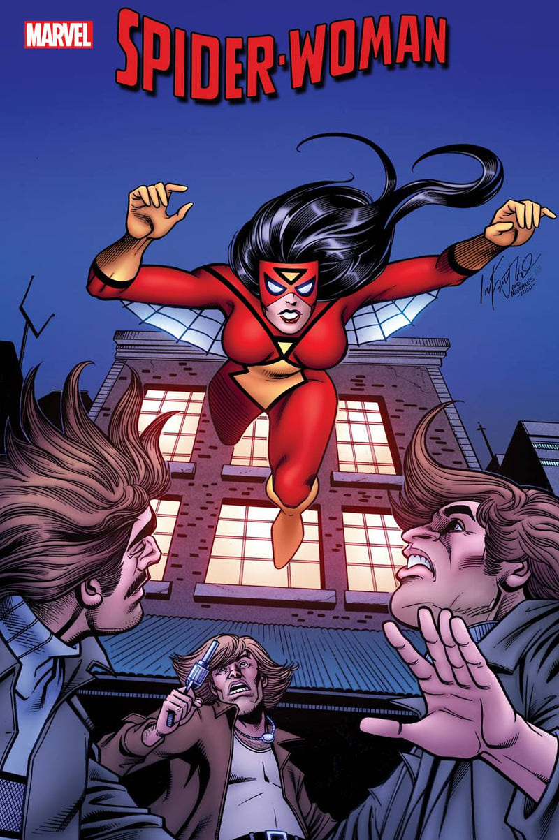 SPIDER-WOMAN 1 1:100 INFANTINO HIDDEN GEM INCENTIVE RATIO VARIANT - The Comic Mint