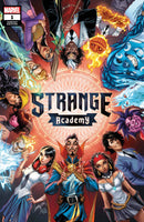 STRANGE ACADEMY 1 FIRST PRINT J SCOTT CAMPBELL TRADE DRESS VARIANT